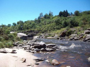 Badeort Cuesta Blanca in Argentinien