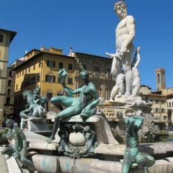 Piazza della Signorina in Florenz