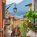 romantische Dorfgasse