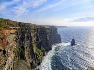 Natur pur bei den Cliffs of Moher