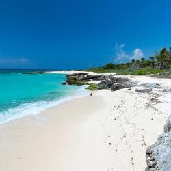 Traumstrand Yucatan Mexiko