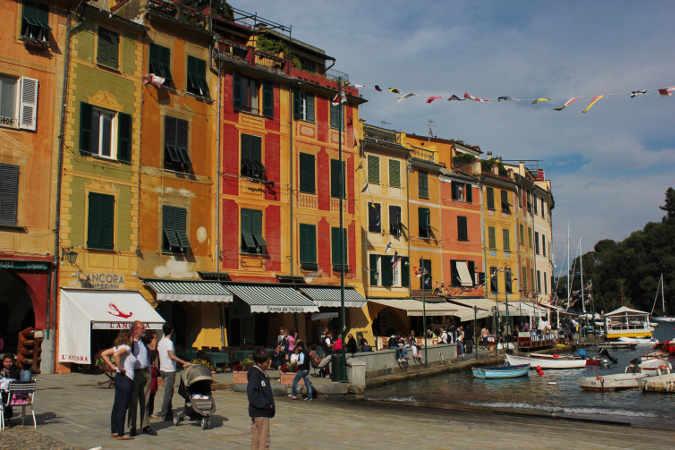Der Hafen von Portofino