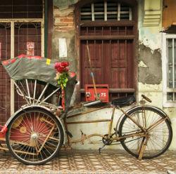 Rikscha in Malaysia