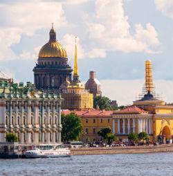 Großstadt in Russland