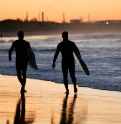 Surfer Sydney Strand