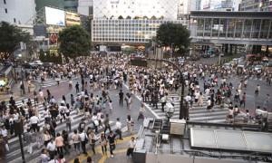 Rush Hour im Tokioter Stadtteil Shibuya