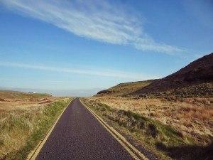 Verlassene Wanderrouten bei den Burren