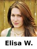 Autorin Elisa