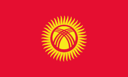 Kirgistan Nationalflagge