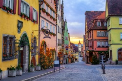 Stadt in Rothenburg