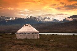 Jurte in Kirgistan
