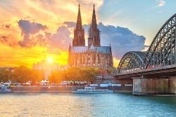 Sicht auf den Kölner Dom