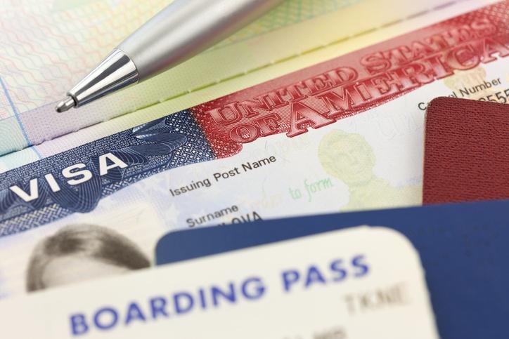 Boarding Pass, Visum und Personalausweis