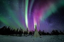 Nordlichter in Yellowknife
