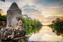 Monument in Kambodscha