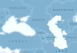 Schwarzes und kaspisches Meer Region