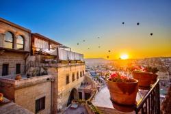 Balkon Sonne Ballons Türkei