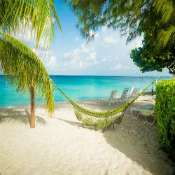 Kuba Hängematte am Strand