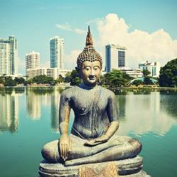 Sri Lanka Buddha-Statue